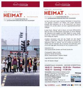 Flyer Heimat